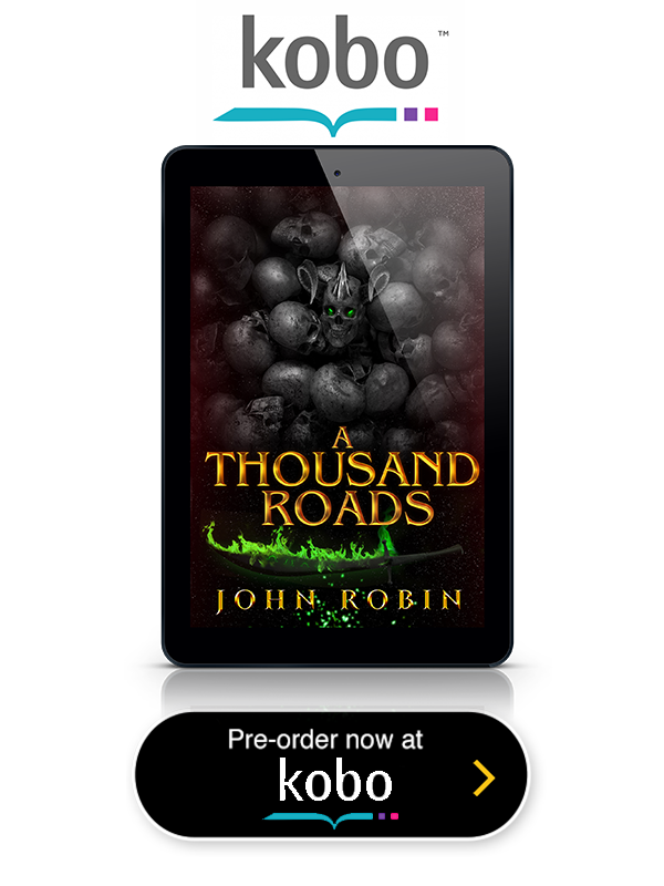 A Thousand Roads Kobo Button