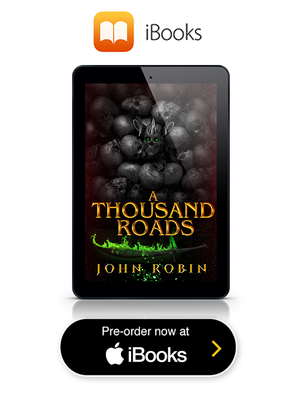 A Thousand Roads iTunes button